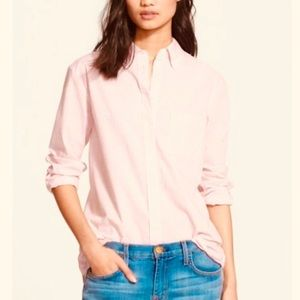 Equipment Margaux Pink Check Button-Down Shirt S